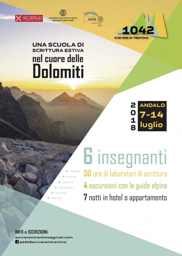 scrivere in Trentino locandina def A3